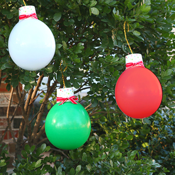 Christmas Light Balloons