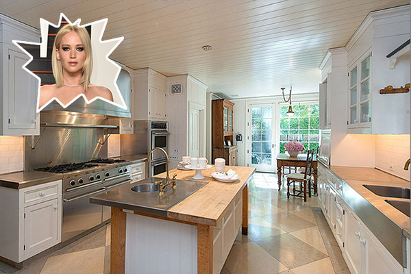 Jennifer lawrence the best celebrity kitchens ever lonny for Nicest kitchen ever