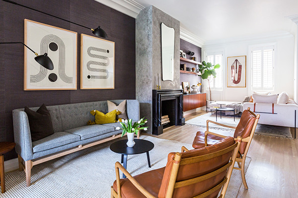 This Open-Plan Home Is Full Of Design Hacks And Drama