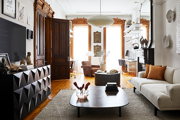 A Brooklyn Brownstone That Perfectly Blends The Past And Present