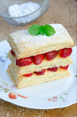 Michael Devine Reports: Make Your Own Strawberry Mille Feuille