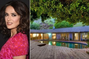 Rent Salma Hayek's Midcentury House in the Hollywood Hills