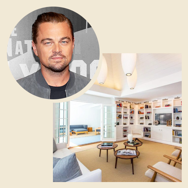 Explore Leonardo DiCaprio's New $4.9 Million Los Feliz Home
