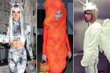 Celebrities in Halloween Costumes 2014