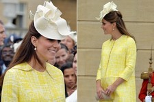 Kate Middleton's Sunny Garden Party Maternity Look