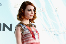 Emma Stone Makes Finger Waves Cool Again