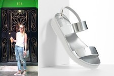 Current Obsession: Simply Vera by Vera Wang Metallic Platform Sandals