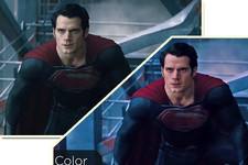 Here's What 'Man of Steel' Would Look Like with Real Color