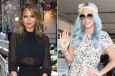 Chrissy Teigen Gets a New Cut, Kesha Goes Baby Blue, Christian Louboutin Enters the Nail World and More