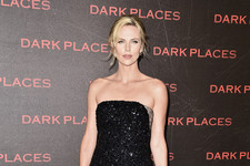 Charlize Theron Sparkles in Paris