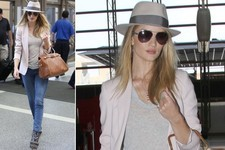 Obsessed: Rosie Huntington-Whiteley's Casual Travel Style