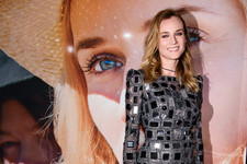 Look of the Day: Diane Kruger's Metallic Frock