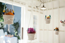 Kid-Friendly Project: Beaded Plant Hangers