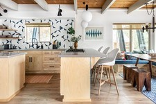 This Sleek Tahoe Cabin Is So Playful And Kid-Friendly