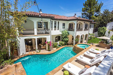 Inside Vanessa Hudgens' Mediterranean-Inspired Studio City Home