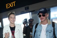 Cody Simpson and Gigi Hadid Are All Smiles at LAX