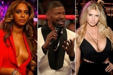 Kimmel, Foxx, Celebs Steal Show Before Mayweather/Pacquiao