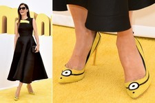 Sandra Bullock Wears Adorable 'Minions' Shoes for a Good Cause