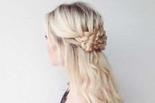 The Prettiest Half-Up Half-Down Hairstyles for Summer