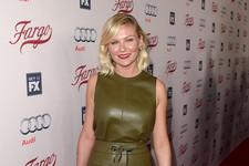 Look of the Day: Kirsten Dunst's Lovely Leather