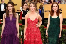 Stars on the Red Carpet at the SAG Awards